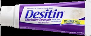Desitin(r) zinc oxide paste
