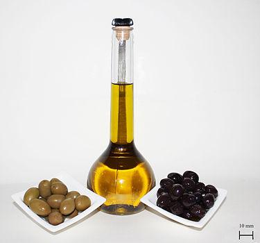 اختبار زيت الزيتون